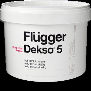 Краска flugger dekso 5