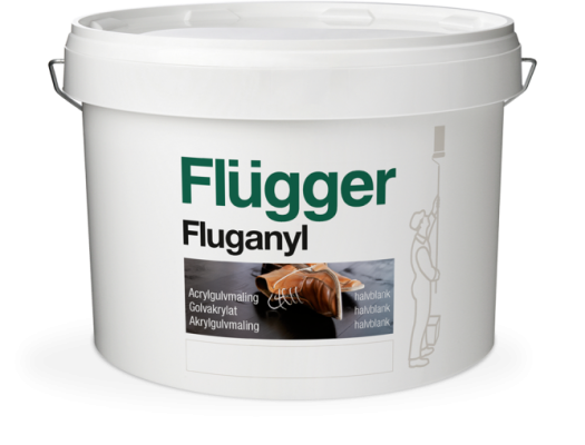 Краска Flügger Fluganyl Acrylic Floor Paint