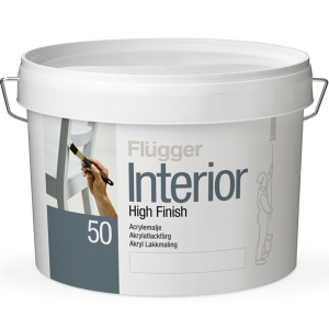 Краска Flügger Interior High Finish 50