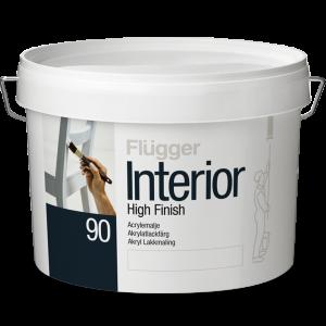 Краска Flügger Interior High Finish 90