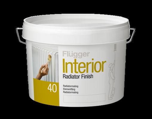 Краска для радиаторов Flugger Interior Radiator Finish