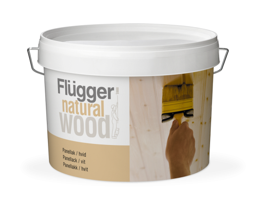 Flugger Natural Wood Panel Lacquer, transparent