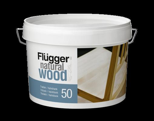 Flugger Natural Wood Lacquer 70 Мебельный лак глянец