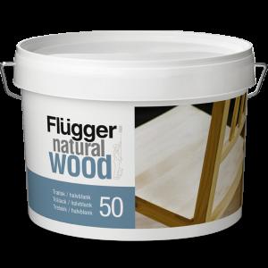 Flugger Natural Wood Lacquer 20 Мебельный лак полуматовый