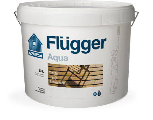 Flugger Wood Oil Aqua