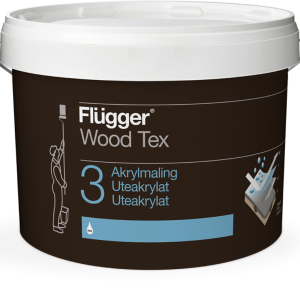 Flügger Wood Tex Akrylmaling (05 Wood Tex Acrylic Paint)