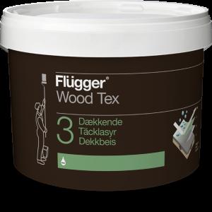 Flügger Wood Tex Tacklasyr (04 Wood Tex Opaque)