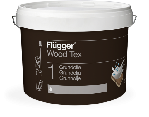 Грунтовочное масло Flugger Wood Tex Grundolie (01 Wood Tex Priming Oil)
