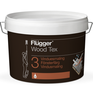 Flügger Wood Tex Vinduesmaling (Window Paint)