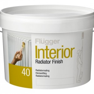 Flugger Radiator Paint (краска для радиаторов)