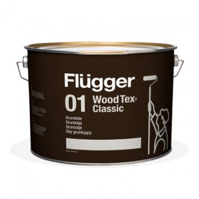 Алкидное масло Flugger 01 Wood Tex Classic Priming Oil (90 Classic)